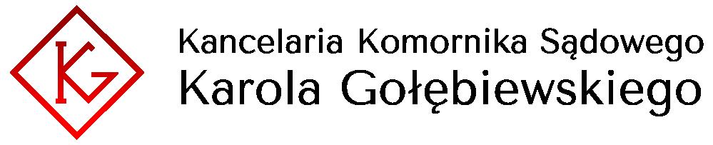 Komornik Sądowy Karol Gołębiewski